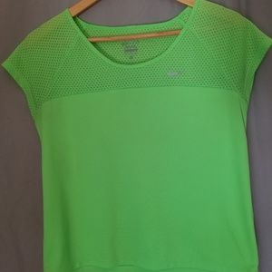 Neon Green Nike Athletic Top